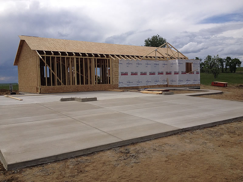 Custom Built Home in Progress