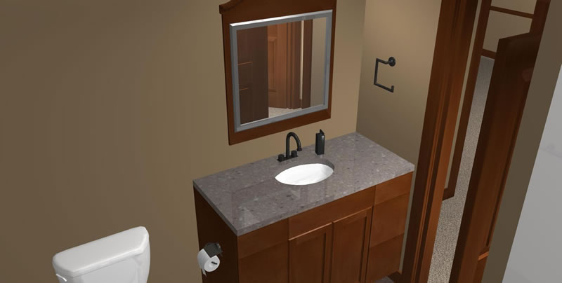 basement bathroom design - Basement Design Services